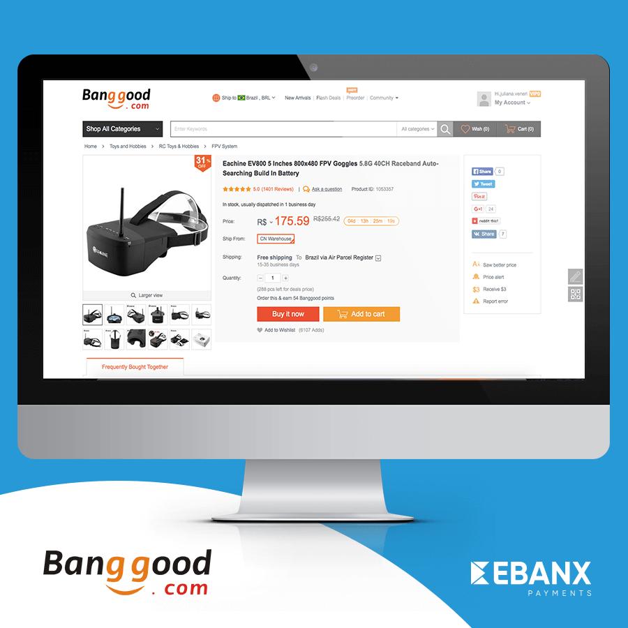 Saiba como parcelar todas as suas compras na Banggood com o nosso tutorial.