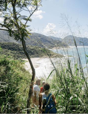 conheça a praia secreta do rio